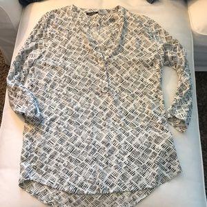 Fun printed blouse